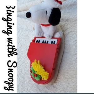 Singing with Snoopy NWT